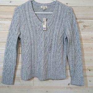 🎁3/$27🎁ST. Jone's bay gray sweater